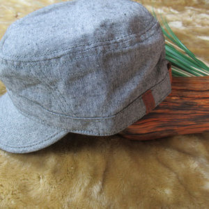 Ben Sherman Accessories - Ben Sherman Men s Stripe Chambray Legion Hat  a421c2865050